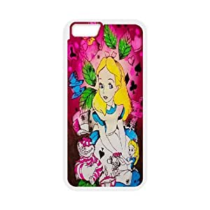 "Disney Alice in Wonderland Productive Back Phone Case For Apple Iphone 6,4.7"" screen Cases -Pattern-17"