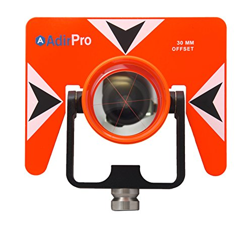 AdirPro All-Metal Single Tilt Prism 720-07 With Case