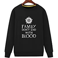 Has-Play Men's Family Don't End with Blood TV Sweatshirts