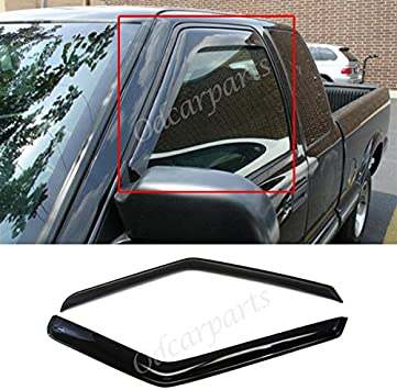 For 95-05 Chevy Blazer//S10 //GMC Jimmy//Sonoma Window Visor Shade Rain Deflector