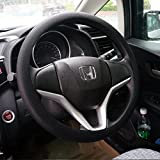 Soft Silicone Car Steering Wheel Cover Non-Slip Car Decoration Steering Wheel Cover