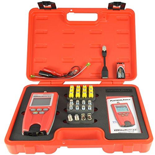 Platinum Tools T129K1 Vdv Mapmaster 2.0 Tester Kit. Box. by Platinum Tools