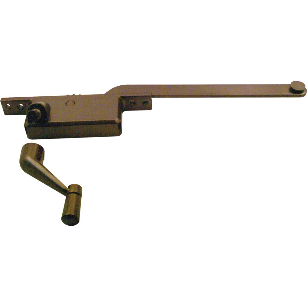 Prime-Line Products 17390-RB-8 Casement Operator 8-Inch Square Type, Left Hand, Bronze