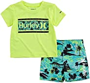 Hurley Baby-Boys Swim Suit 2-Piece Outfit Set