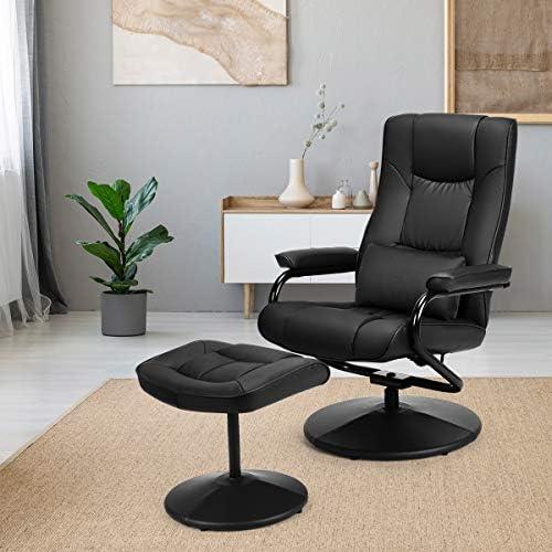 Giantex Recliner Chair w Ottoman
