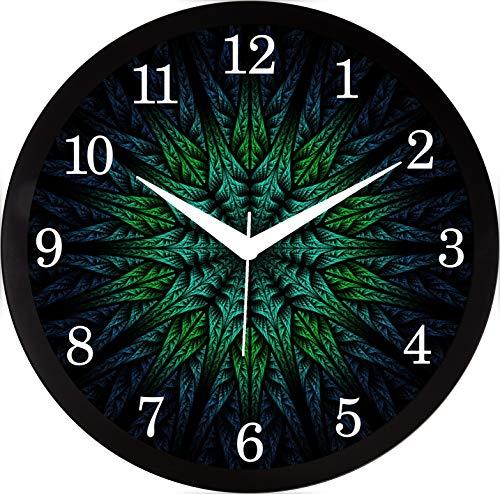 RAG28 Plastic Designer Wall Clock (Zamble, 11.75 X 11.75 Inch, Multicolour)