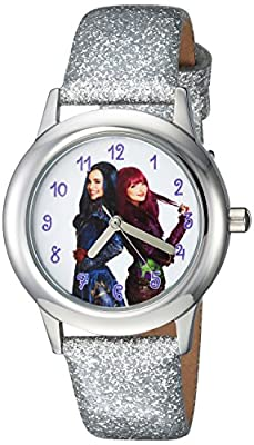 DISNEY Girl's Descendants 2' Quartz Stainless Steel Casual Watch, Color:Silver-Toned (Model: WDS000253) by eWatchFactory