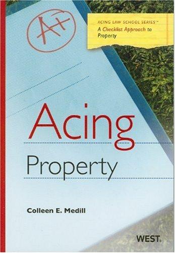 Acing Property (Acing (Thomson West))