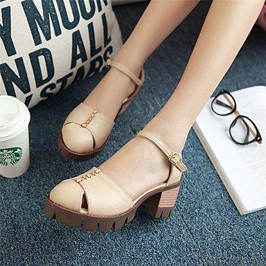 pwne Sandalias De Mujer Zapatos Formales Polipiel Primavera/Otoño Verano/Noche De Fiesta De Cumpleaños Graduación Gracias Business Daily Shoeschunky Formal US9.5-10 / EU41 / UK7.5-8 / CN42