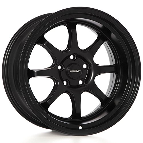 (Circuit Performance CP25 Wheel 18x10.5 Flat Black 5-114.3 +22mm)