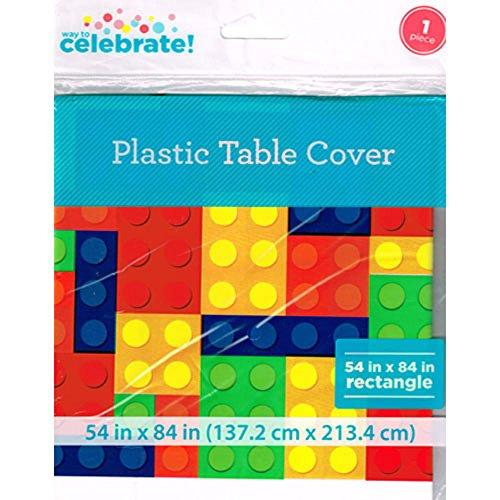 LEGO Bricks Plastic Table Cover (Lego Decorations)