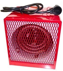 Dayton 3VU34 Electric Heater With FingerProof Steel Intake