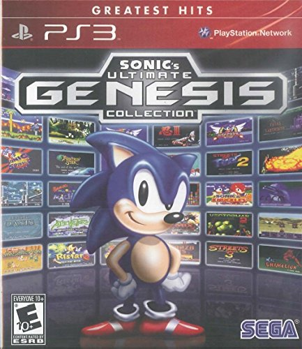 2011 Playstation 2 Game - Sonic's Ultimate Genesis Collection (Greatest Hits) - PlayStation 3