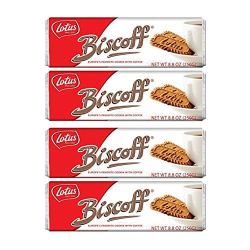 Biscoff Cookies Original Singles Pack (128 Cookies / 35.2 oz Total) ()