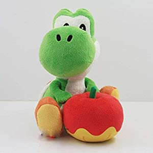 YUNZHI Plush Toys Stuffed Toy 17Cm Yoshi with Plush of Plush Toys for Apple Dolls