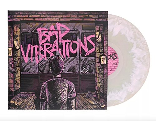 Day Collectible - A Day To Remember - Bad Vibrations Exclusive Pink & Green LP Vinyl
