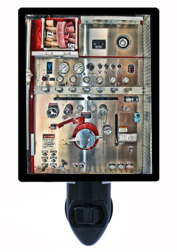 Firefighter Night Light, Pump Panel, - Fighter Panels