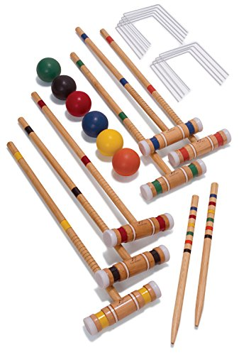 EastPoint Sports 6-Player Croquet Set with Caddy by EastPoint Sports (Image #2)