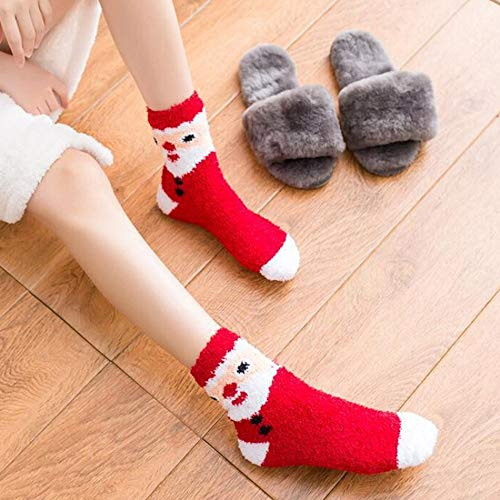 Womens Christmas Holiday Casual Socks, AKwell Colorful Fun Cotton Crew Socks for Novelty Gifts by AKwell (Image #3)