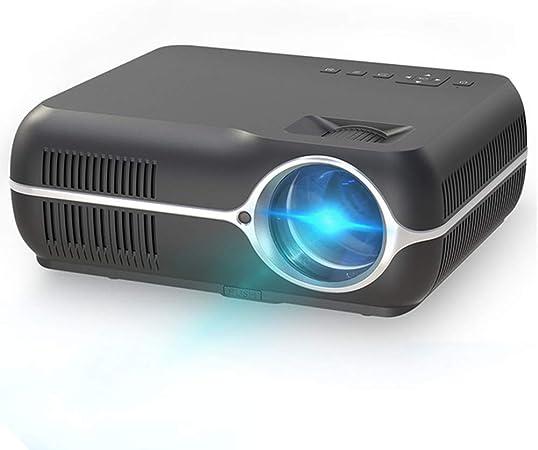 GWX Mini proyector Smart, Inicio proyector Multimedia, portátil proyector casero de la Ayuda HD 1080P para el Entretenimiento de Cine en casa Juegos de Fiestas,Negro: Amazon.es: Hogar