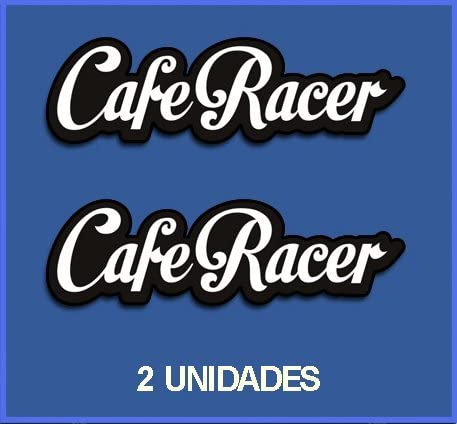 Motivo: Cafe Racer Adesivi per Moto RIF Dp61 Ecoshirt 8A-DGJO-9VDO