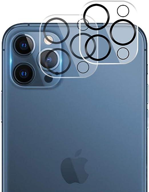 Protection d'objectif d'appareil photo pour iPhone 12 Pro - Verre ...
