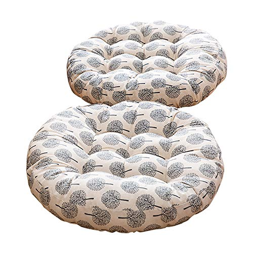 Round Floor Pillow Cushion Japanese Style Futon Seat Cushion Thicken Chair Wave Window Pad 21