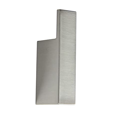 INDA Divo - Perchero de Pared, latón, Blanco, 3 x 2 x 8 cm ...