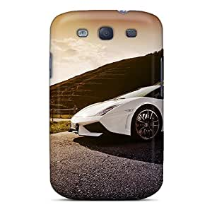 Hot ImUxaXM1304twaRZ Case Cover Protector For Galaxy S3- Lamborghini Gallardu