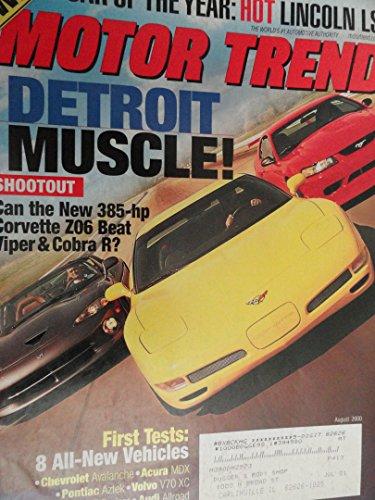 2001 Acura MDX / 2001 Audi Allroad Quattro / 2002 Chevy Chevrolet Avalanche / 2001 Chrysler PT Cruiser / 2001 Ford Explorer Sport Trac / 2001 Mazda Tribute ES V-6 / 2001 Pontiac Aztek / 2001 Volvo V70 XC Magazine Article