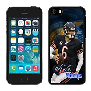 LJF phone case NFL Chicago Bears Kyle Adams Cheap iphone 5/5s Case Team Member Phone Sports Protective Cases