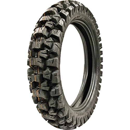 Best MOTOZ Tractionator Desert HT 140/80-18 Dual Sport Motorcycle Tire, DOT