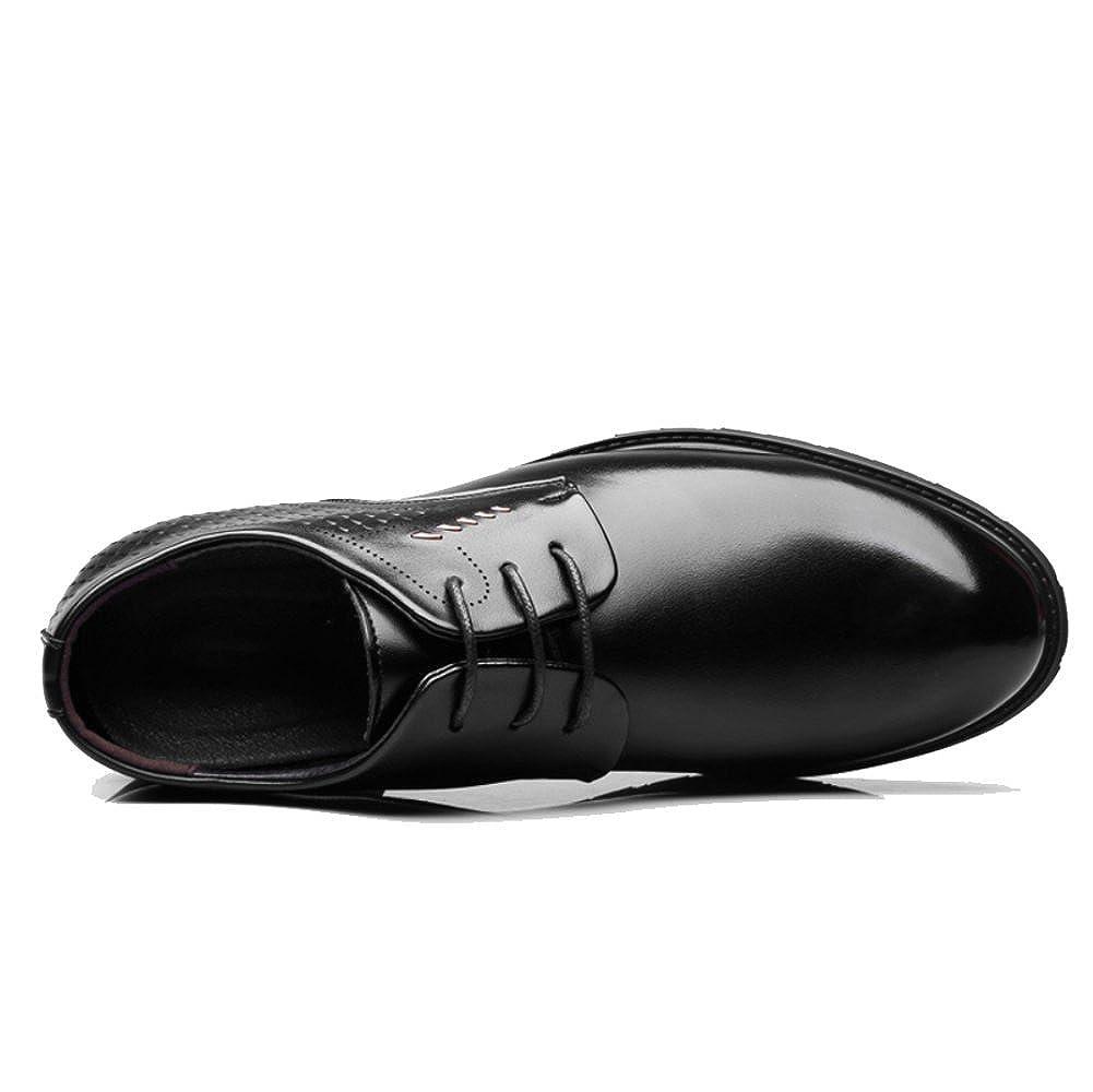 ZPFDY ZPFDY ZPFDY Männer Jahreszeiten Business Casual Fashion Lace Gentleman Mittleren Alters Lederschuhe 705380