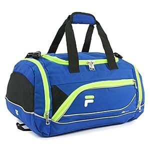 "Fila Sprinter 19"" Sport Duffel Bag, Blue/Neon (Blue) - FL-SD-2719"