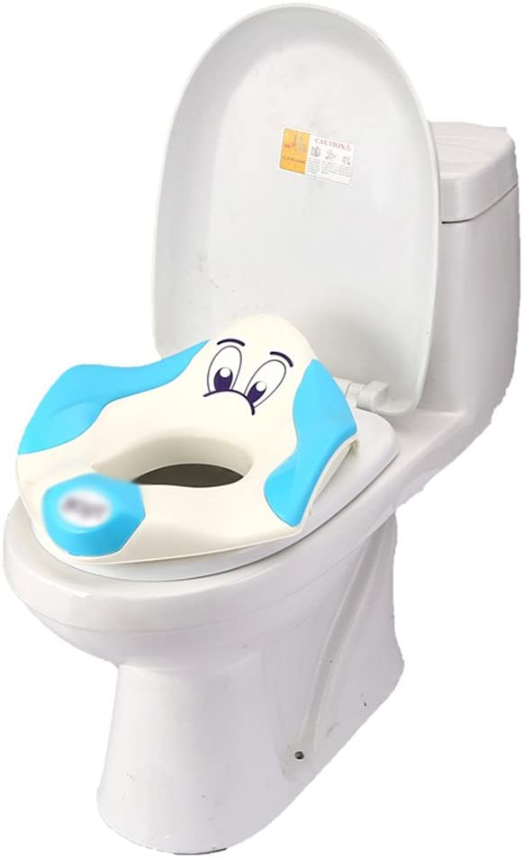 WC Escalera para Child Potty Training Toilet Respaldo Alto Baby Pottys 2 In 1 Taburete para niños Potty Trainer Seat con Escalera y Escalera Kit de cajón portátil extraíble con Asas de
