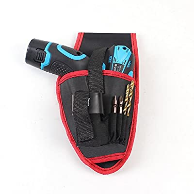 Hand Tool Bag Portable Cordless Drill Holder Holst Tool Pouch For 12V Drill Cordless Screwdriver Waist Tool Bag Power Tool Bag