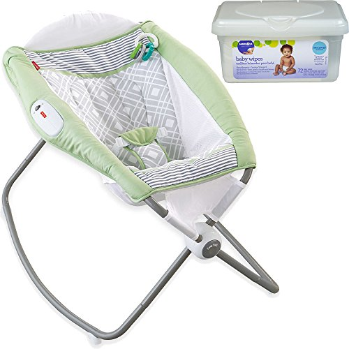 Fisher Price Newborn Portable Infant Rock and Play Gentle...