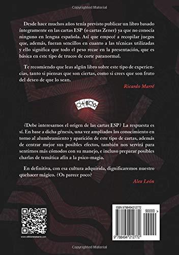 Magia con cartas ESP: Amazon.es: Ricardo Marré: Libros