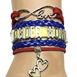 DOLON Wonder Woman Bracelet-Gift Wife,Mom,Grandma