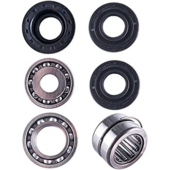 east lake axle front differential bearing & seal kit compatible with honda  trx 400/450 foreman 1995 1996-2001