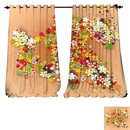 fengruiyanjing-Home Thermal Insulated Grommet Floral Summer Sale Banner