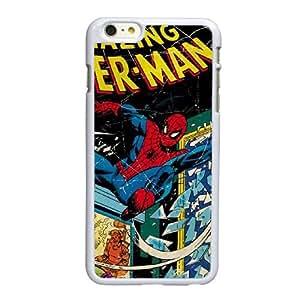 Marvel Comics Spiderman I2Q34K6MH funda iPhone 6 6S más la caja de 5,5 pufunda LGadas funda blanca FD2522