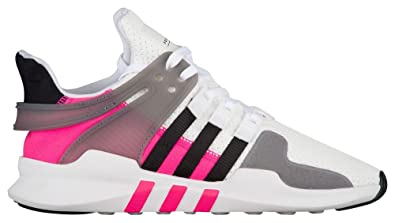 newest collection 3523c 2f2b9 Amazon.com | adidas Kids EQT Support ADV White/Black/Pink ...