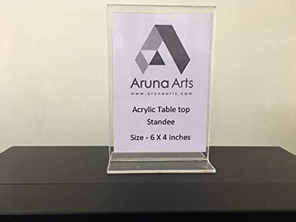 Acrylic table Top Standee: Amazon in: Industrial & Scientific