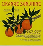 NV Florida Orange Groves Orange Sunshine SWEET