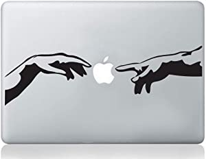 Wall4Stickers Michelangelo Creation of Adam Italian Hands mac Sticker Apple MacBook Laptop Decal Art Vinyl Art