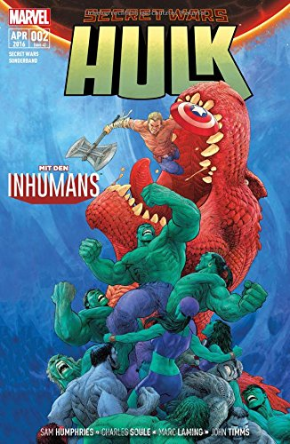 Secret Wars: Bd. 2: Hulk + Inhumans