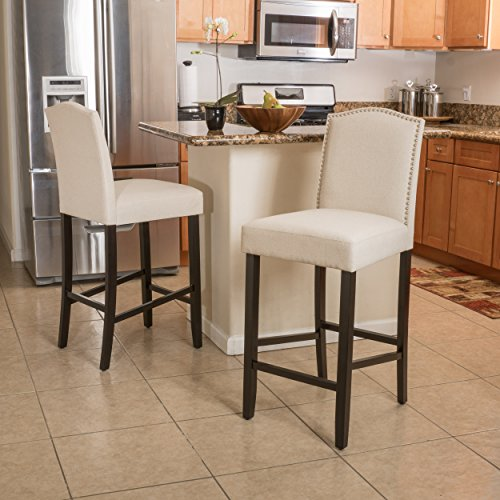 upholstered bar stools - 3