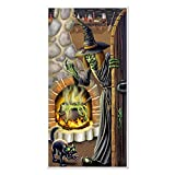 Beistle Witch's Brew Door Cover, 30-Inch by 5-Feet