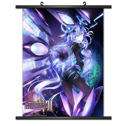 CWS Media Group Officially Licensed Hyperdimension Neptunia Wall Scroll Poster 32 x 38 Inches